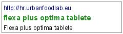 flexa plus optima tablete